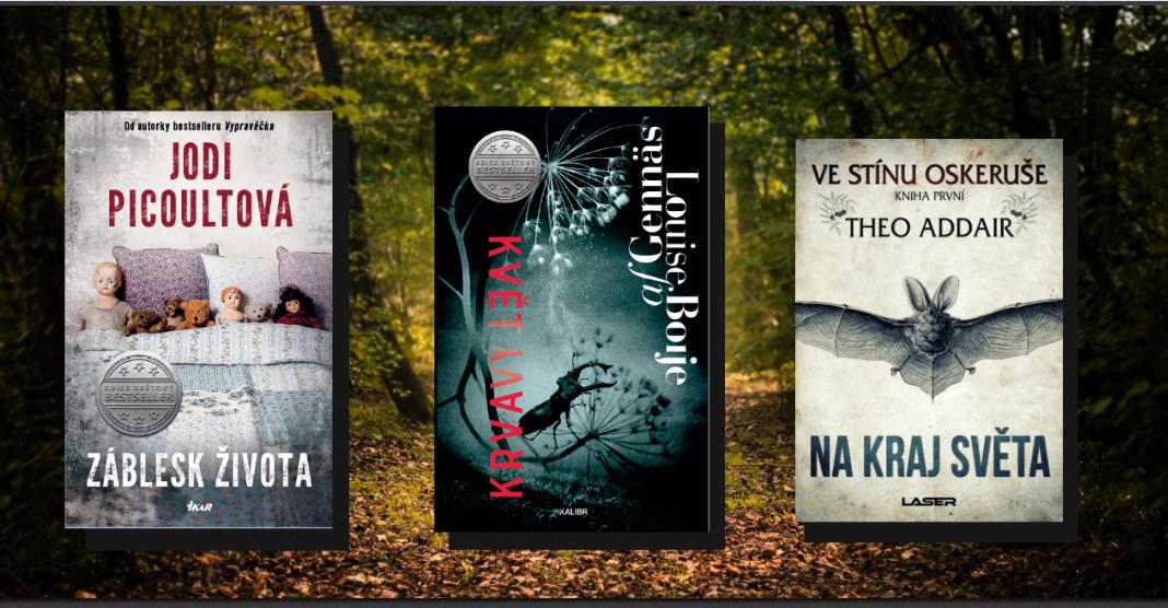 7 nových knih, které zazáří v září